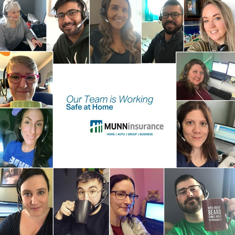 Working from Home - Munn Insurance